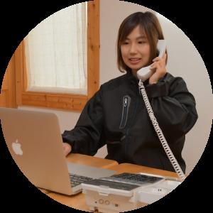 受領のご連絡と査定結果のご連絡を致します。